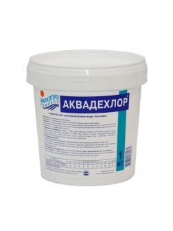 АКВАДЕХЛОР, 1кг ведро, гранулы для дехлорирования воды