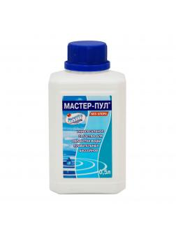 МАСТЕР-ПУЛ, 0,5л бутылка, жидкое безхлорное средство 4 в 1 для обеззараживания и очистки воды