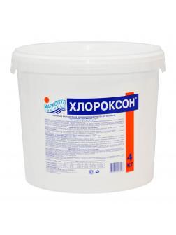 ХЛОРОКСОН, 4кг ведро, гранулы для дезинфекции, окисления органики, осветления и очистки воды