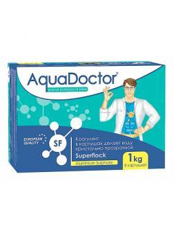 ФЛОКУЛЯНТ, SF 1кг коробка, табл.8х(5х25)гр, коагулирующий препарат, медленнорастворимый (SF-1)