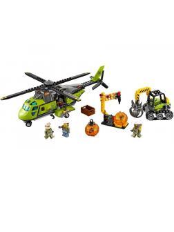 Конструктор Bl «Грузовой вертолёт исследователей вулканов» 10640 (City 60123) / 348 деталей