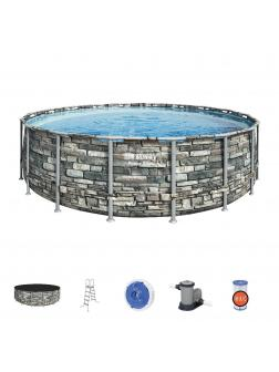 Каркасный бассейн Power Steel 549x132см