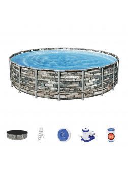 Каркасный бассейн Power Steel 610x132см