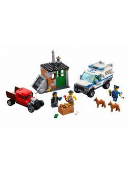 Конструктор Bl «Полицейский отряд с собакой» 10419 (City 60048) / 250 деталей