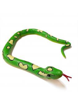 Игрушка-тянучка «Змея» 100 см., A034P / Зеленая