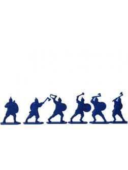 Солдатики Воины и Битвы «Полк Левой Руки» 2 набора / Синий