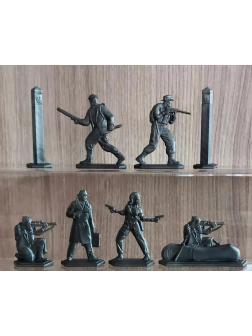 Набор солдатиков «Нарушители границы» 1861000 / Антрацит