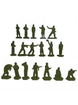 Набор солдатиков «Танкисты» 8010000 / Зеленый