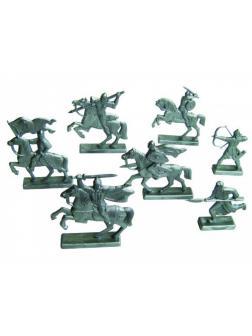 Набор солдатиков «Дружина» 2210200 / Серебристый