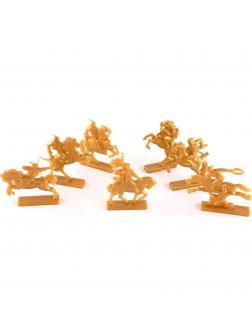Набор солдатиков «Золотая Орда» 2210300 / Золотистый
