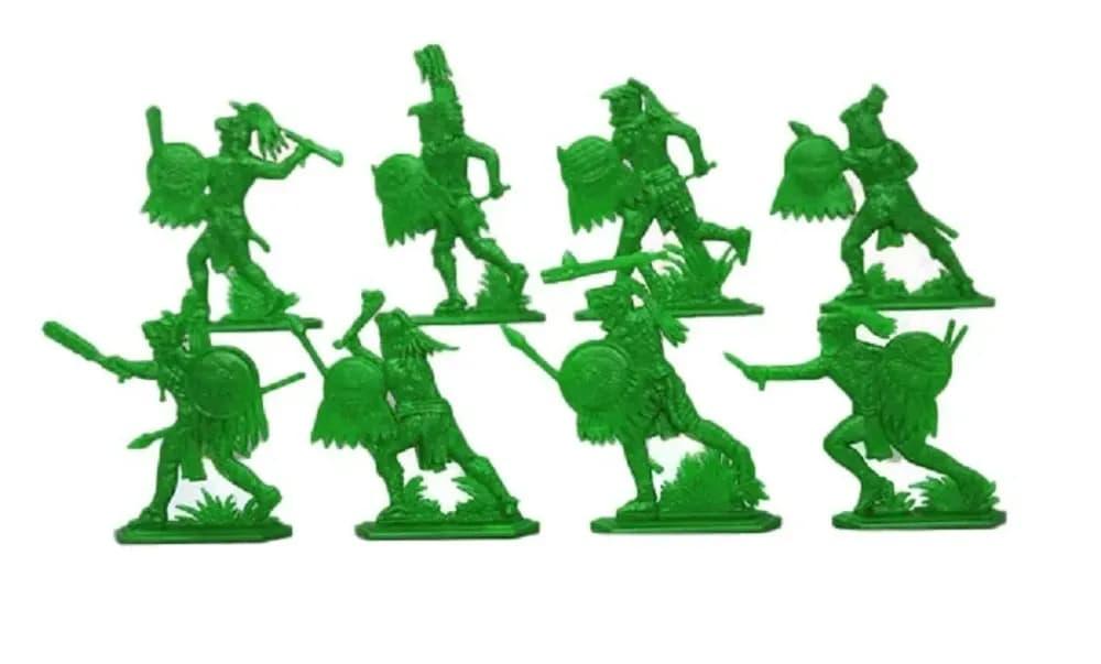 Набор солдатиков «Ацтеки» 5810000 / Зеленый