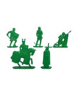 Набор солдатиков «Ледовое побоище. Тевтоны» 9520000 / Зеленый