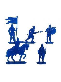 Набор солдатиков «Ледовое побоище. Русские» 9630000 / Синий