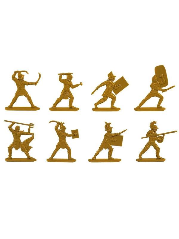 Набор солдатиков «Гладиаторы» 2741000 / Золотистый