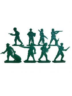 Набор солдатиков «Банда анархистов» 1550000 / Зеленый