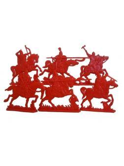 Набор солдатиков 1:32 «Русские витязи. Старшая дружина» 17410000 / Красный
