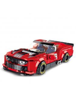 Конструктор Panlos Brick «Iracing Camaro» 666023 / 336 деталей