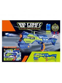 Автомат «Water Bullets Gun» с мягкими и водными пульками / 528D-2