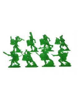 Солдатики «Ацтеки» + «Конкистадоры» 21216 / 2 набора