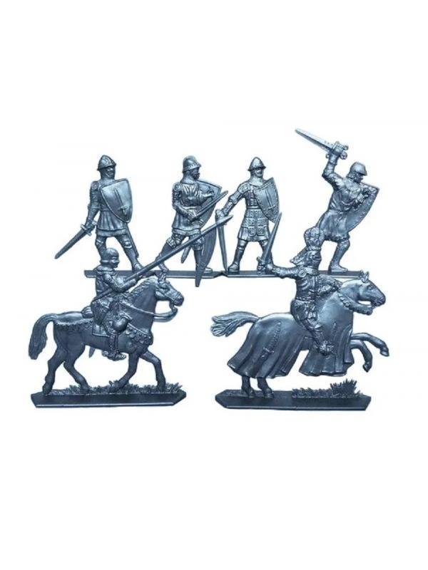 Солдатики «Лучники Армландии» + «Барон Хлодомир» 21001 / 2 набора
