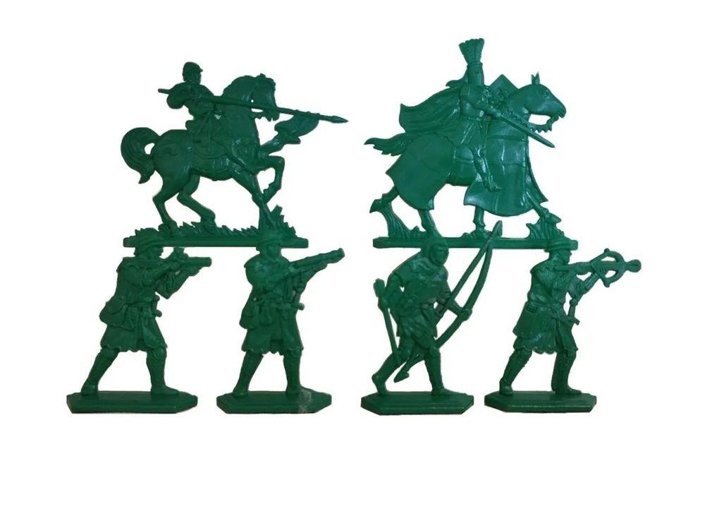 Солдатики «Барон Хлодомир» + «Барон Аделин» + «Барон Манфре» 21211 / 3 набора