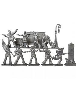 Набор солдатиков «Матросы революции» 1810000 / Серебристый