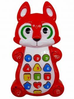 Обучающий детский планшет Play Smart «Умный смартфон: Лисичка» 7612 с цветной проекцией
