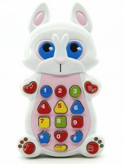 Обучающий детский планшет Play Smart «Умный смартфон: Зайчик» 7613 с цветной проекцией