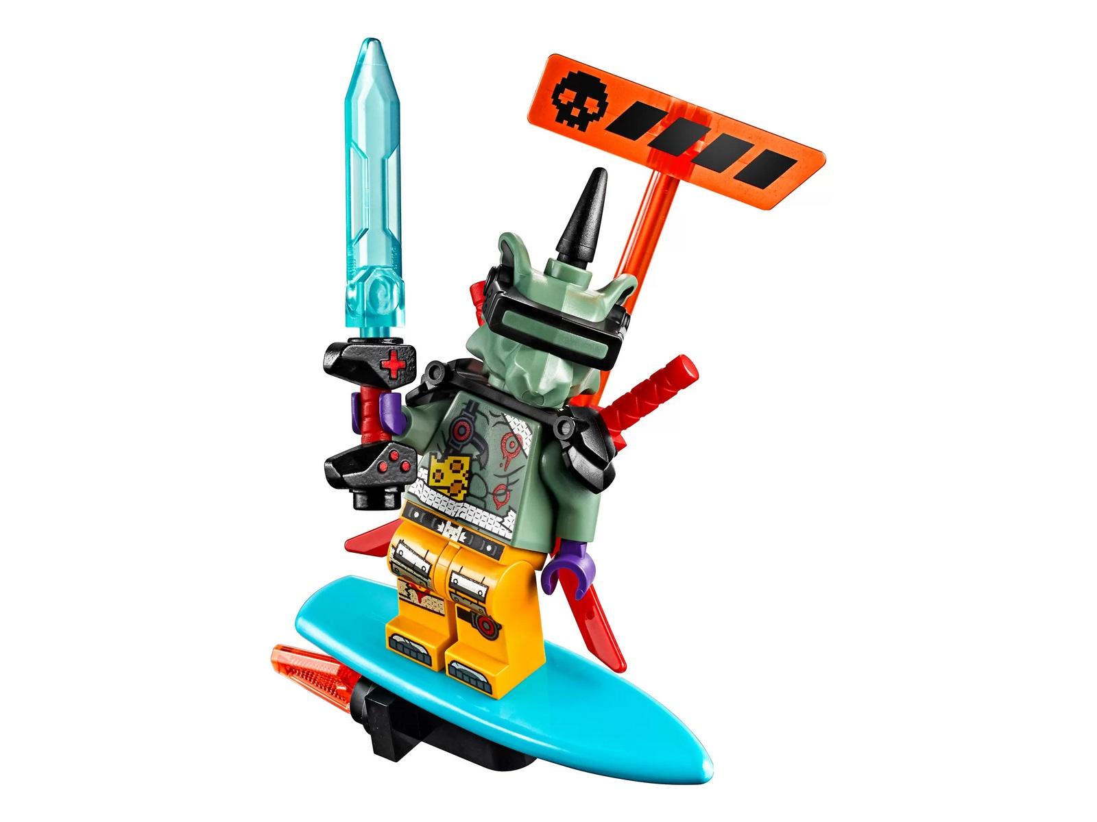 Конструктор Lari «Кибердракон Джея» 11488 (Ninjago 71711) 546 деталей