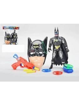 Игровой набор «Бэтмен» 1171D / Маска, пистолет, фигурка героя