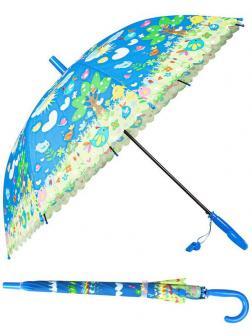 Зонт детский Птички со свистком 50 см