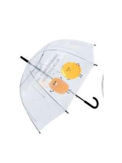 Зонт детский Друзья прозрачный купольный 60 см