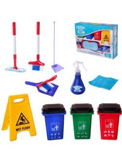 Игровой набор ABtoys Помогаю маме Генеральная уборка 11 предметов