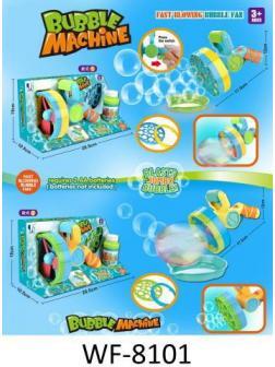 Игрушка Junfa Машинка для запуска мыльных пузырей Бластер