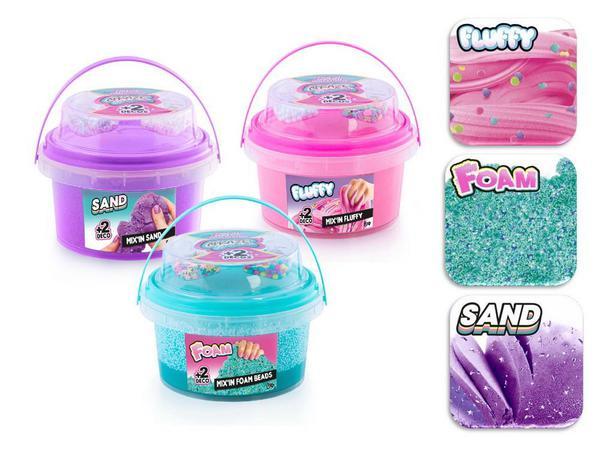 Cлайм Canal Toys Mix & Match CRAZE SENSATIONS Невероятные эффекты, 3 вида
