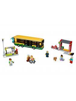 Конструктор «Автобусная остановка» 40021 (City 60154) 377 деталей