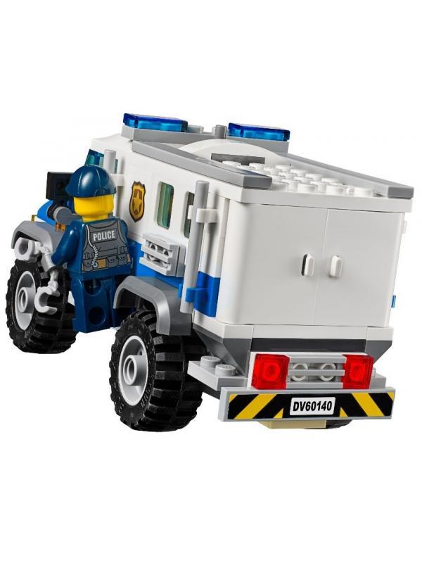 Конструктор Ll «Ограбление на бульдозере» 39055 (City 60140) / 591 деталь