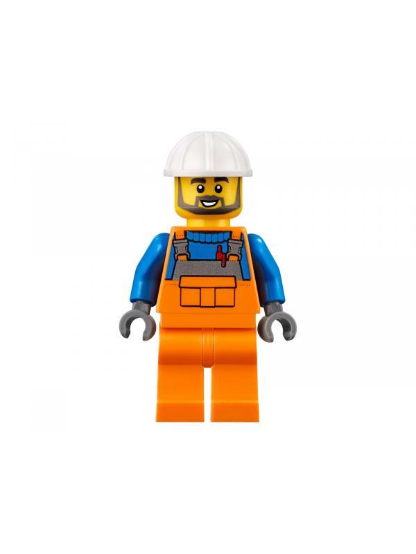 Конструктор «Центральная пожарная станция» 40018 (City 60216) 1056 деталей