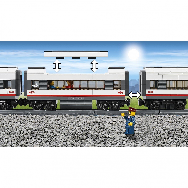 Конструктор «Скоростной пассажирский поезд» 40015 (City 60051) 659 деталей