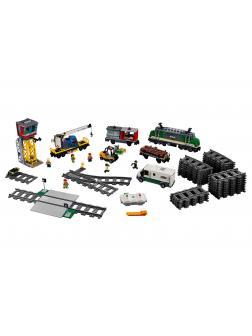 Конструктор «Товарный поезд» 40017 (City 60198) 1373 детали