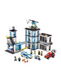 Конструктор «Полицейский участок» 40023 (City 60141) 965 деталей