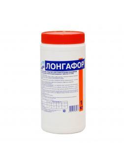 ЛОНГАФОР, 1кг ведро, табл.20гр, медленнорастворимый хлор для непрерывной дезинфекции воды