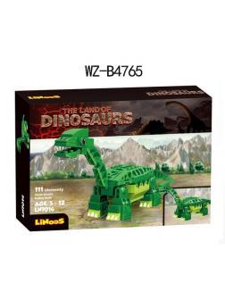 Конструктор Junfa Linoos «Земля динозавров: Брахиозавр» LN7014 / 111 деталей