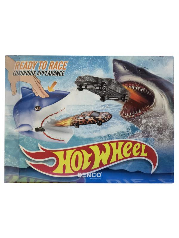 Игровой набор Hot Wheels «Пусковая Установка Акула»