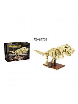 Конструктор Junfa Linoos «Дино музей. Скелет Тираннозавра» LN7008 / 179 деталей