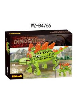 Конструктор Junfa Linoos «Земля динозавров: Стикозавр» LN7018 / 112 детали