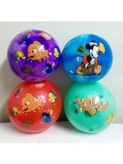 Мяч резиновый  в ассортименте 60 гр.