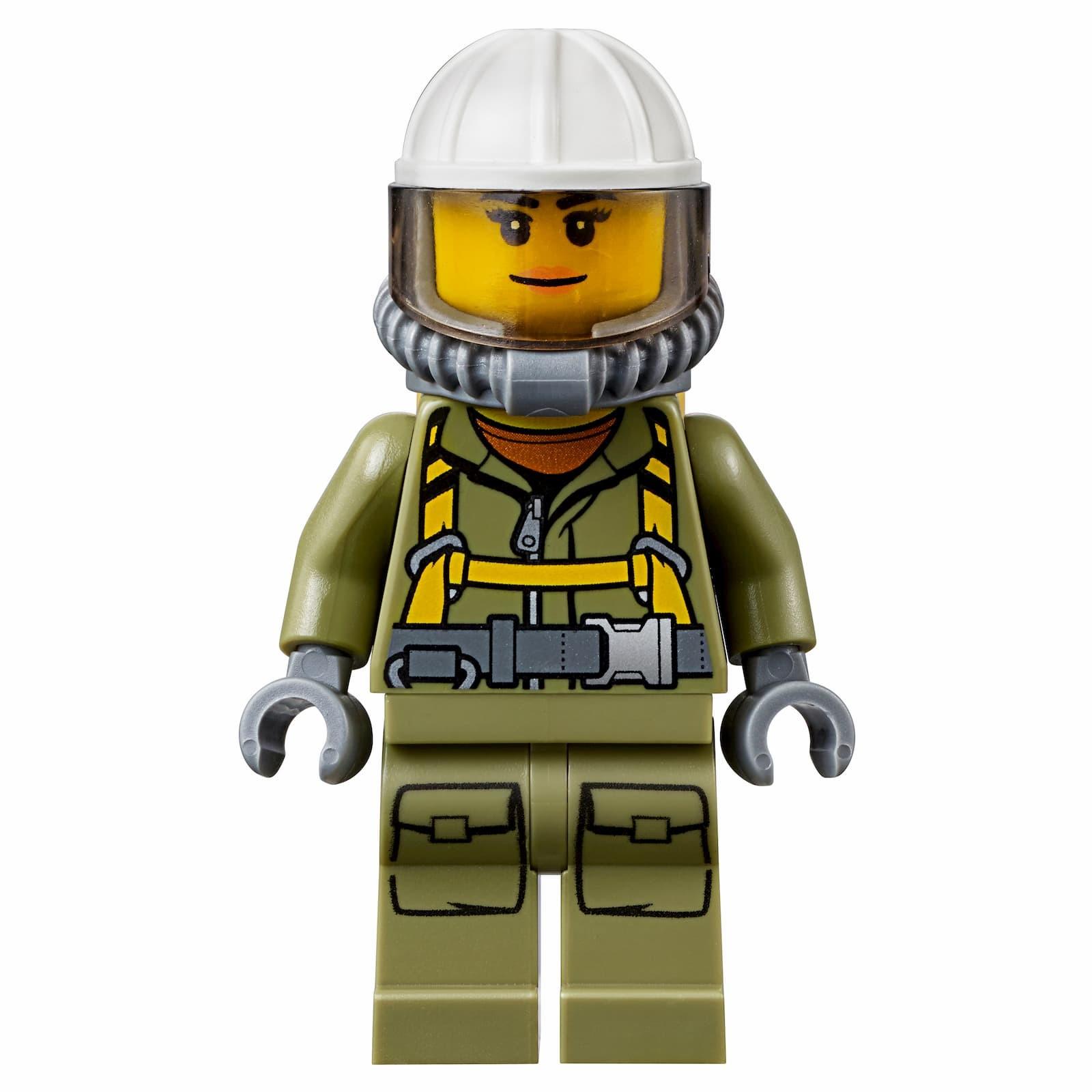 Конструктор Bl «Грузовик исследователей вулканов» 10638 (City 60121), 185 деталей