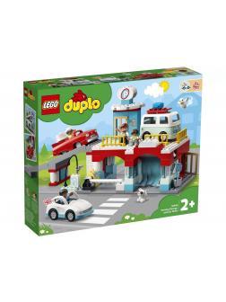 Конструктор LEGO Duplo «Гараж и автомойка» 10948 / 112 деталей