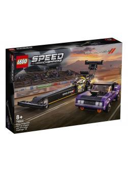 Конструктор LEGO Speed Champions «Mopar Dodge//SRT Top Fuel Dragster and 1970 Dodge Challenger T/A» 76904 / 627 деталей